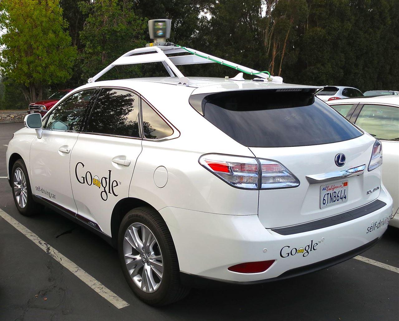 Google Self Driving Car Lexus RX 450h