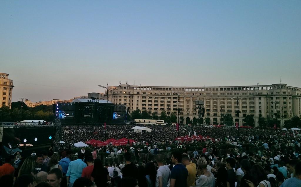 Robbie Williams concert Bucuresti