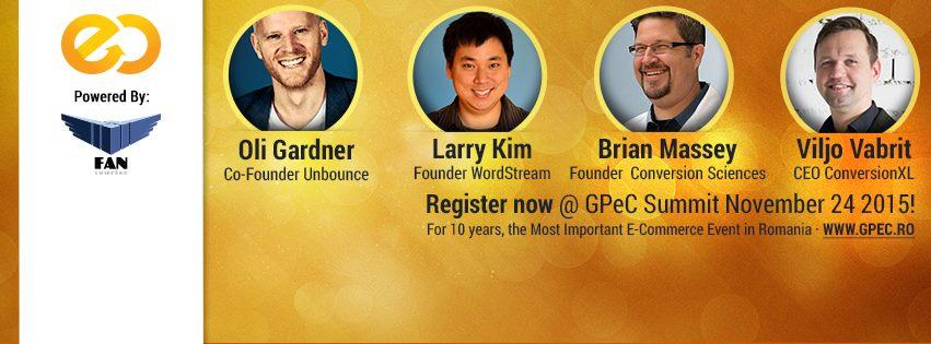 GPeC Summit 24 noiembrie 2015