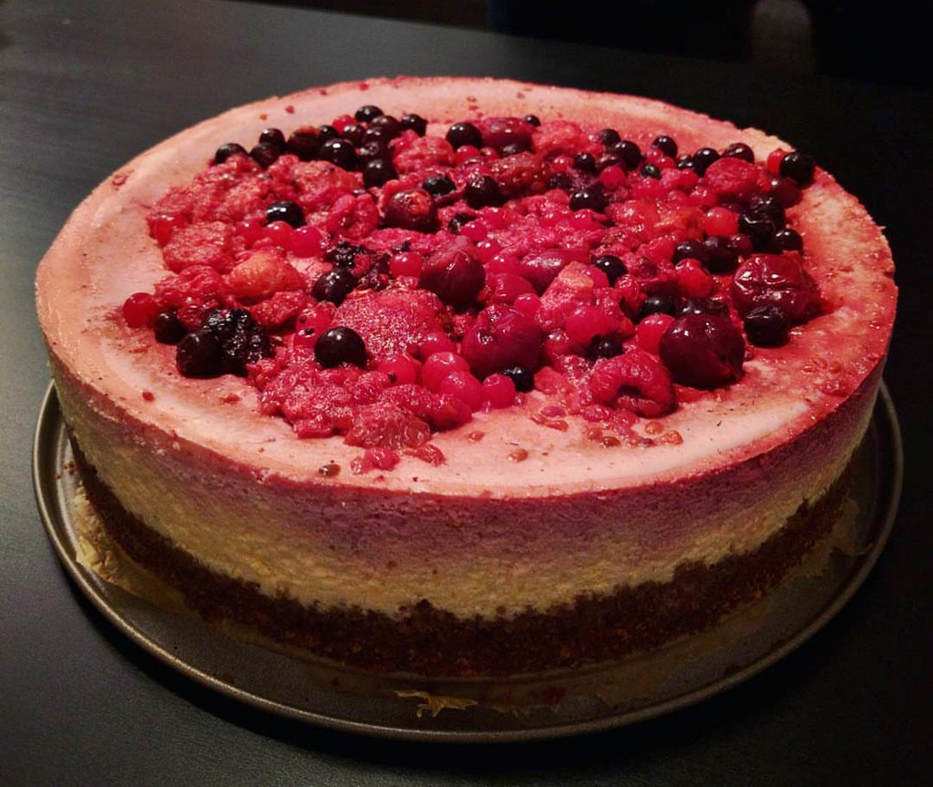 Cheesecake Craciun 2015