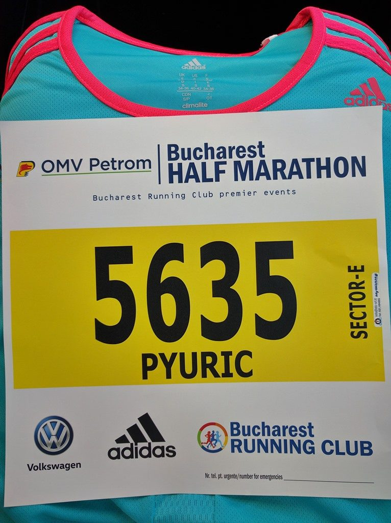 Kit Semi Maraton Bucuresti 2016