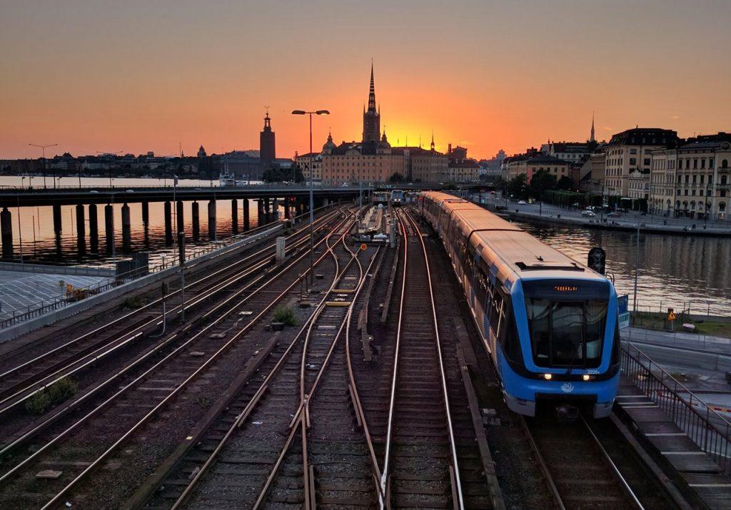 Stockholm metro - Bombardier C20